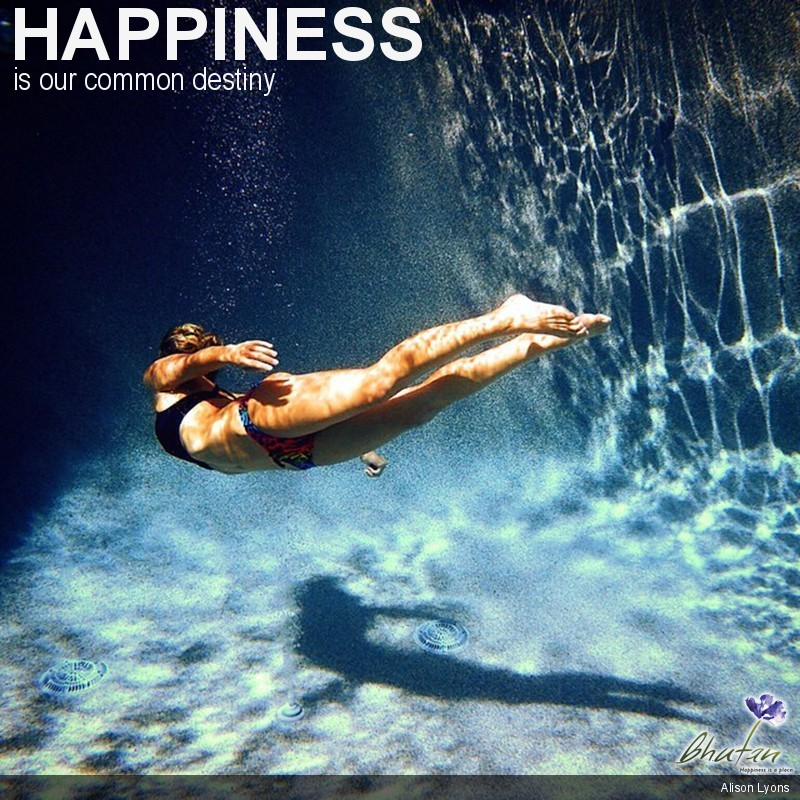 Happiness is our common destiny