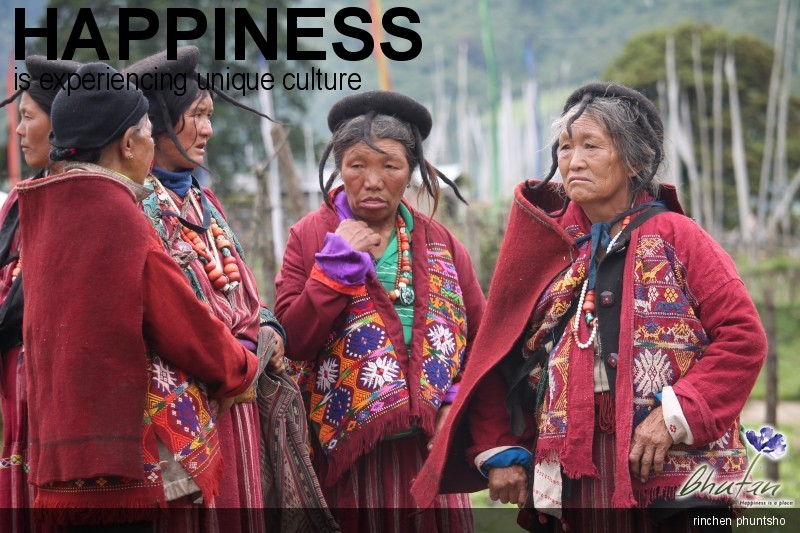 Happiness is experiencing unique culture