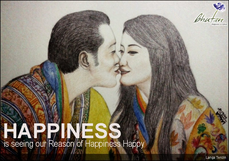 Happiness is seeing our Reason of Happiness Happy