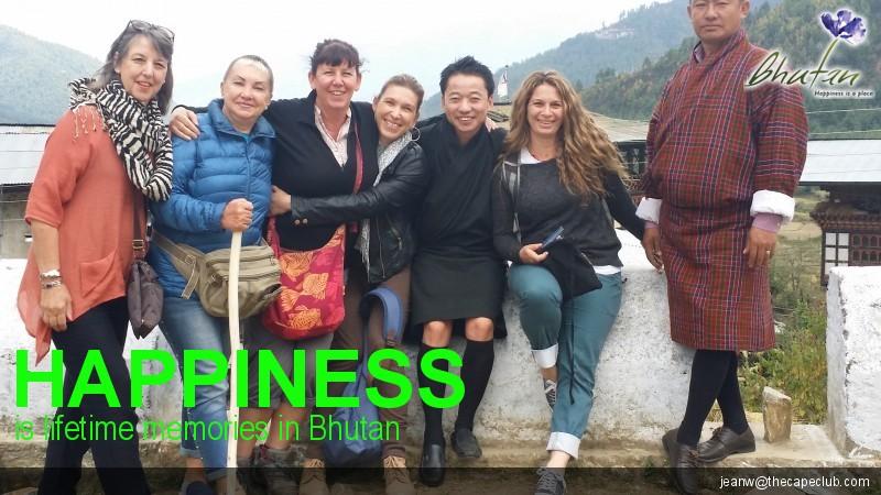 Happiness is lifetime memories in Bhutan