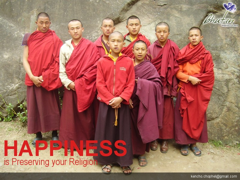 Happiness is Preserving your Religion