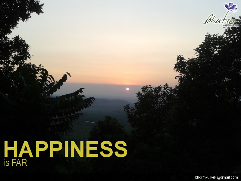 Happiness is FAR