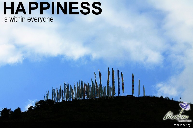 Happiness is within everyone