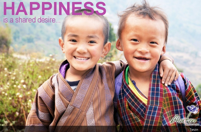 Happiness is a shared desire...