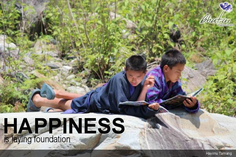 Happiness is laying foundation