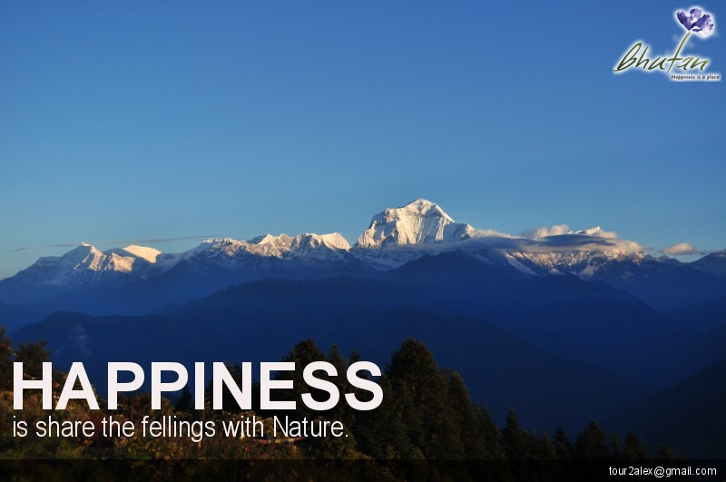 Happiness is share the fellings with Nature.