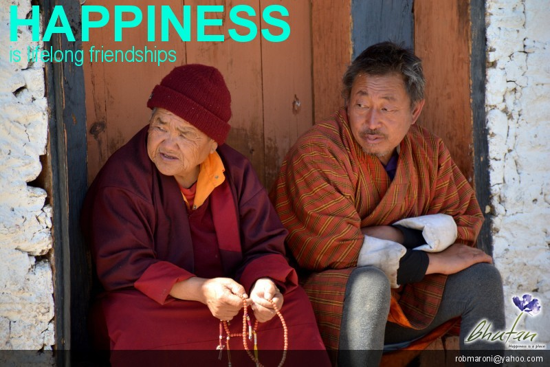 Happiness is lifelong friendships