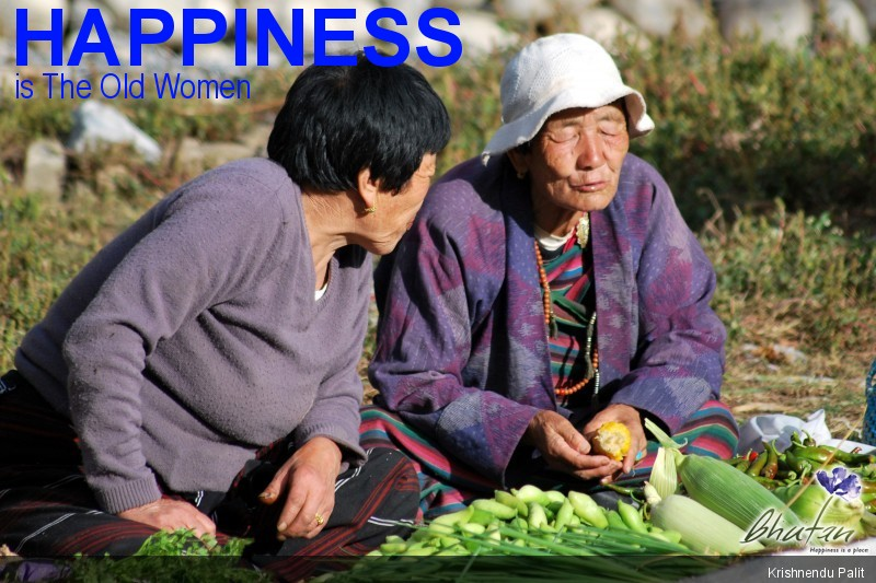 Happiness is The Old Women