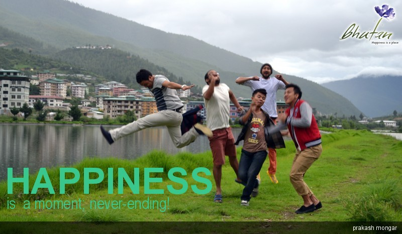 Happiness is  a moment; never-ending!