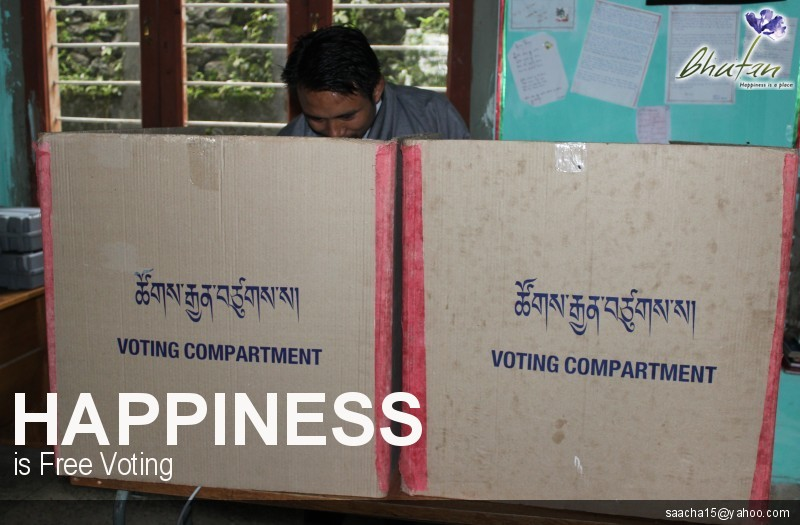 Happiness is Free Voting