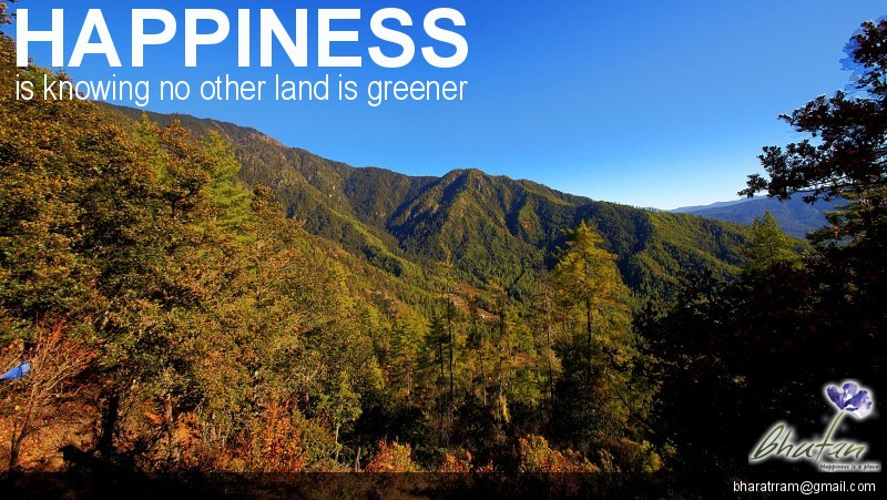 Happiness is knowing no other land is greener