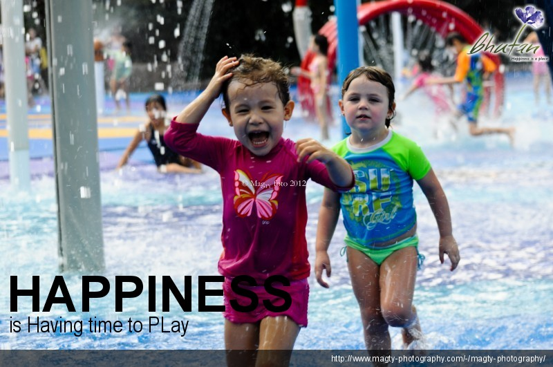 Happiness is Having time to PLay
