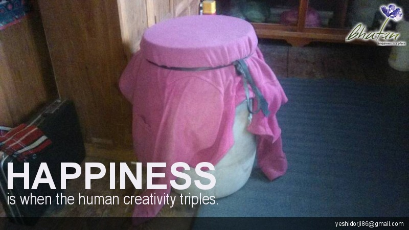 Happiness is when the human creativity triples.