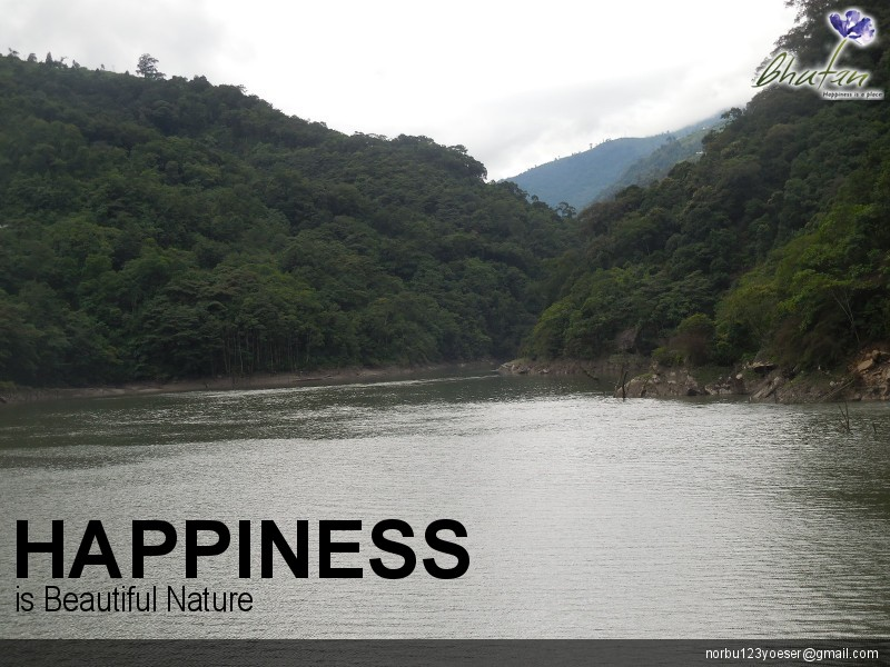 Happiness is Beautiful Nature