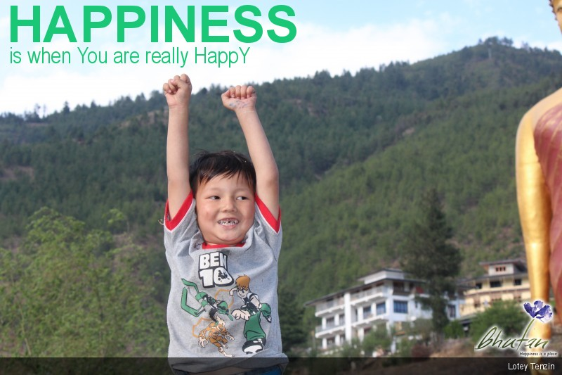 Happiness is when You are really HappY