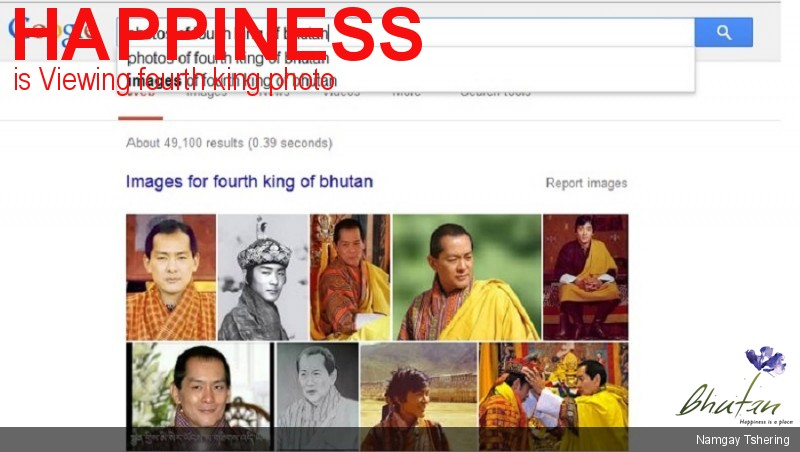 Happiness is Viewing fourth king photo