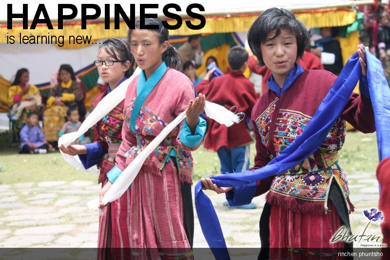 Happiness is learning new...