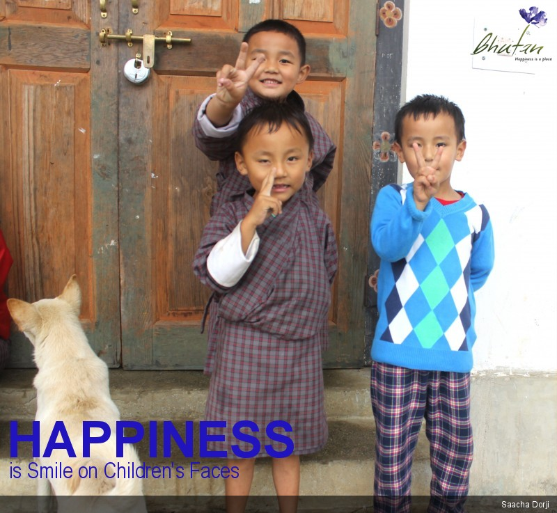 Happiness is Smile on Children's Faces