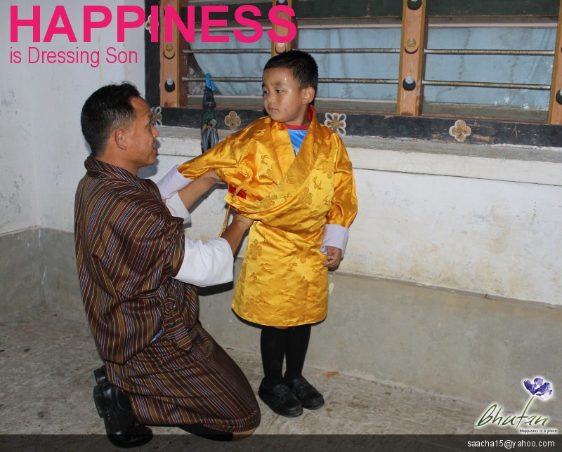 Happiness is Dressing Son