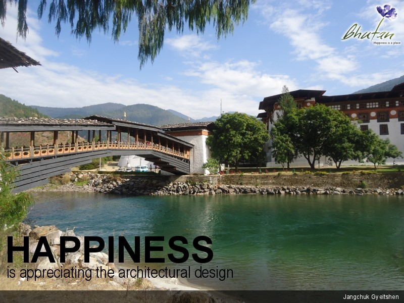 Happiness is appreciating the architectural design