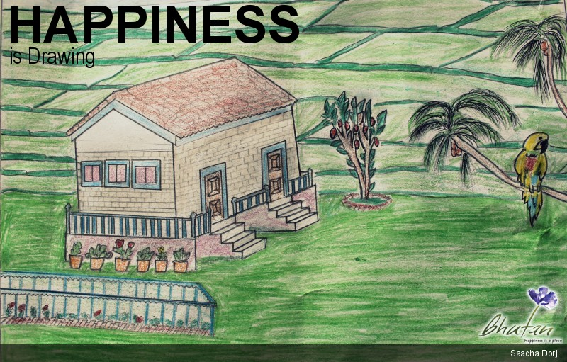 Happiness is Drawing