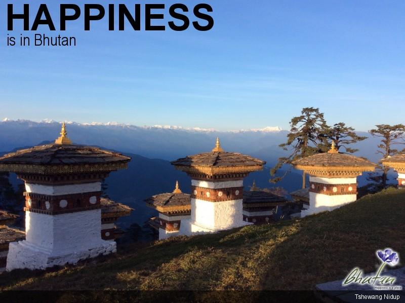 Happiness is in Bhutan