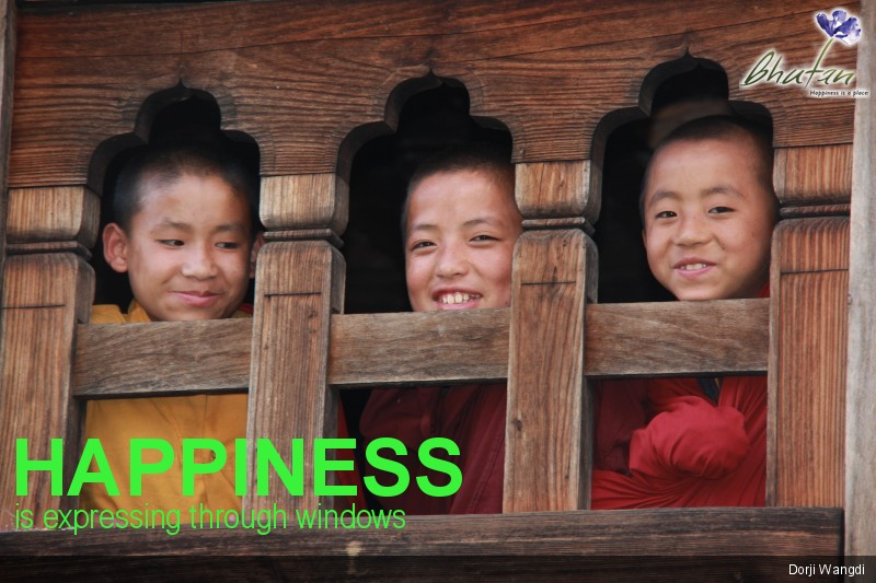 Happiness is expressing through windows