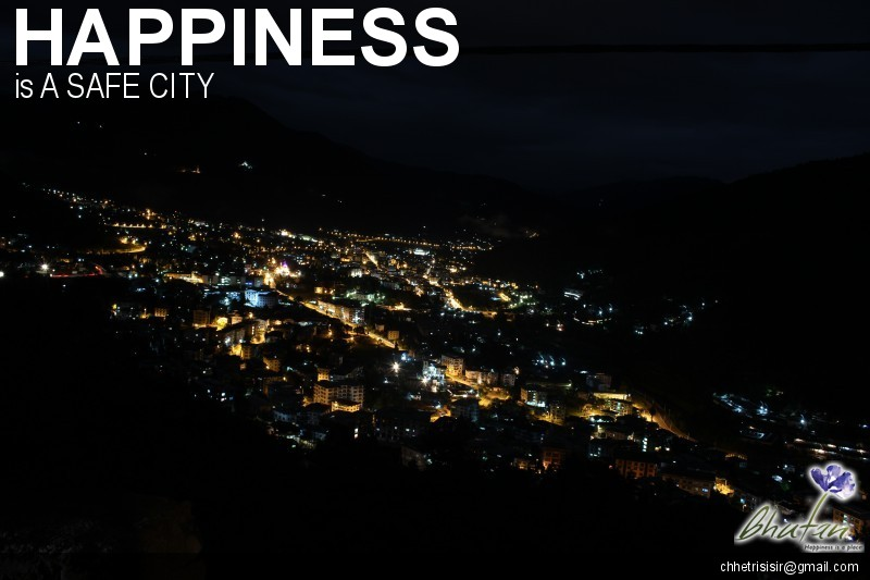 Happiness is A SAFE CITY
