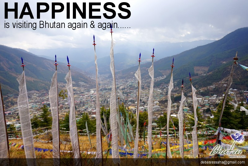 Happiness is visiting Bhutan again & again......