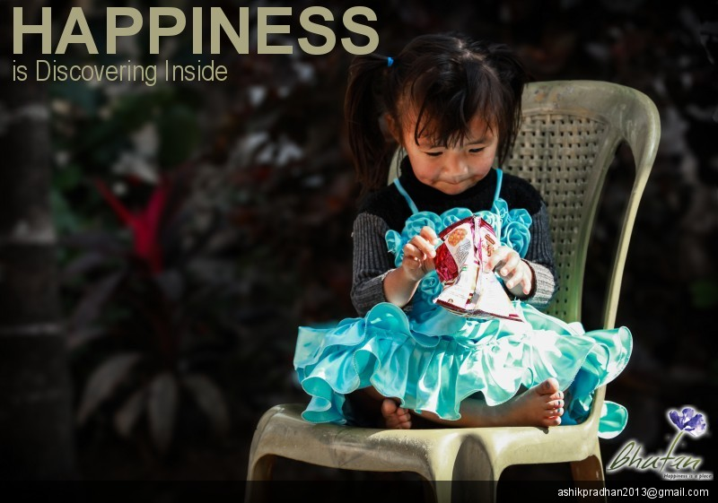 Happiness is Discovering Inside