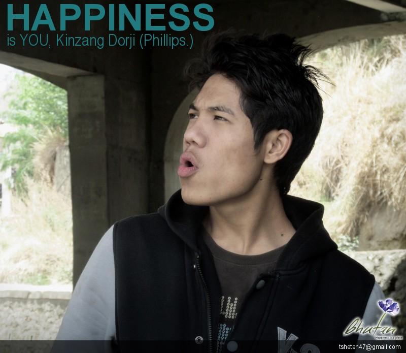 Happiness is YOU, Kinzang Dorji (Phillips.)