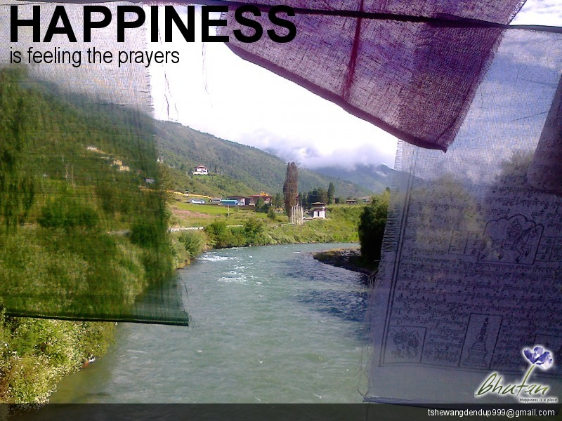 Happiness is feeling the prayers