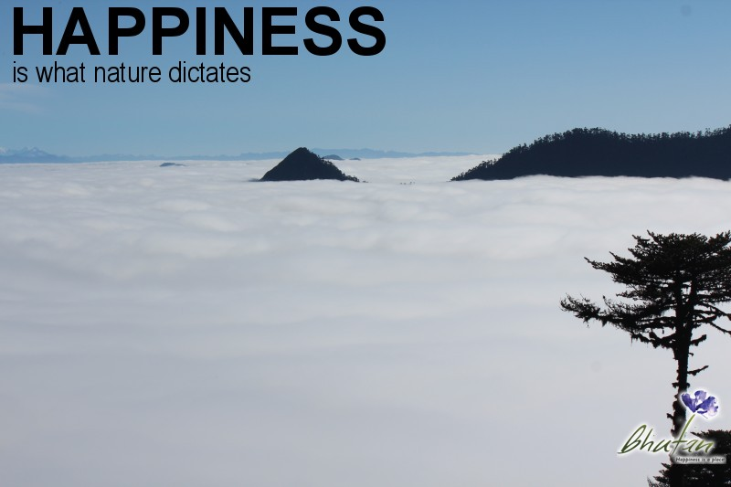 Happiness is what nature dictates