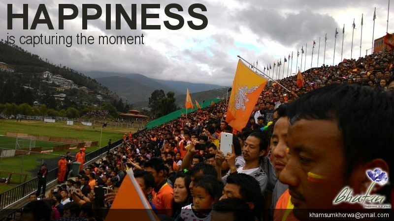 Happiness is capturing the moment