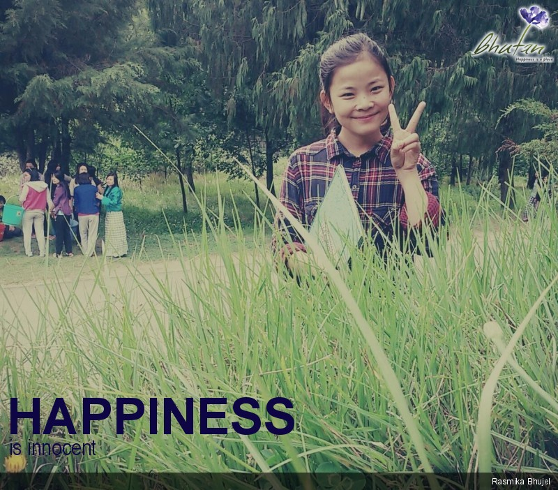 Happiness is innocent