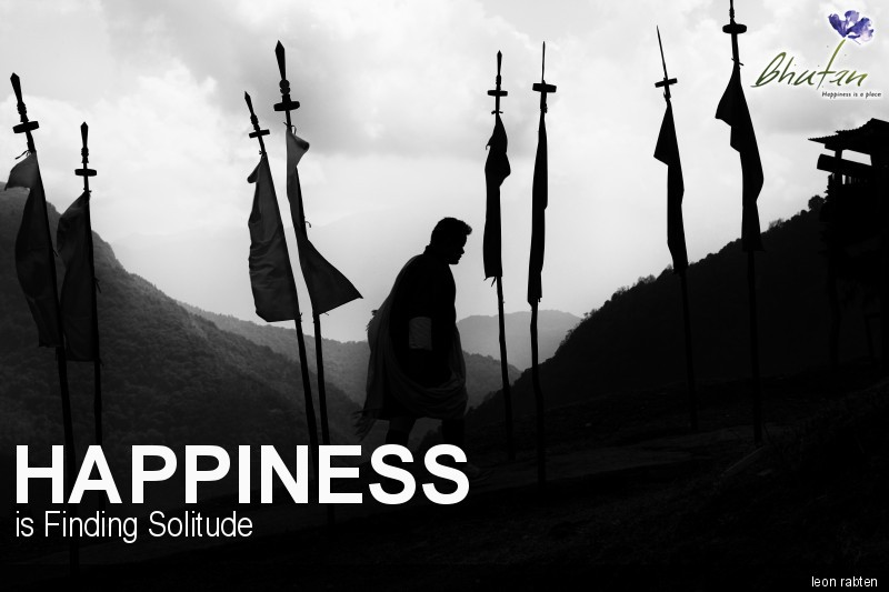 Happiness is Finding Solitude