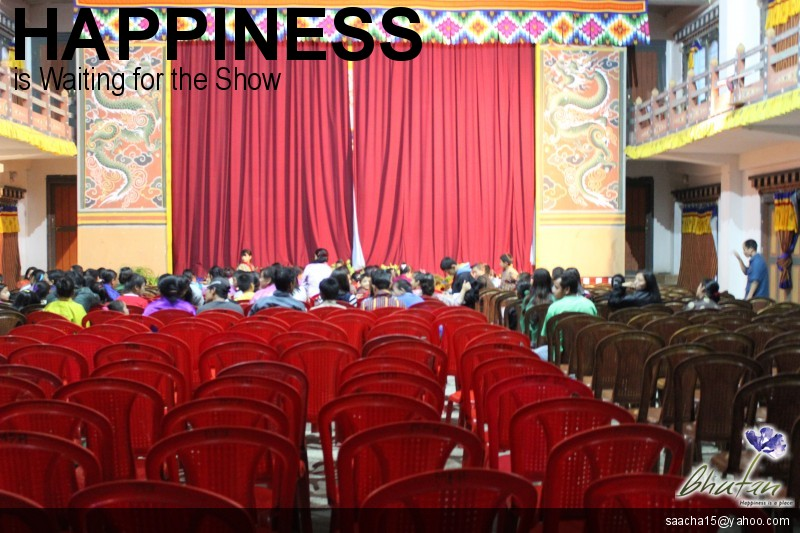 Happiness is Waiting for the Show