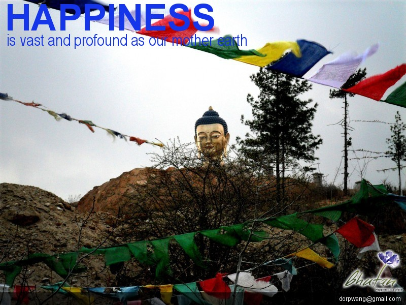 Happiness is vast and profound as our mother earth