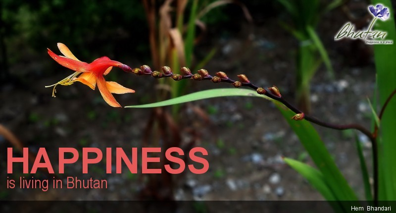 Happiness is living in Bhutan