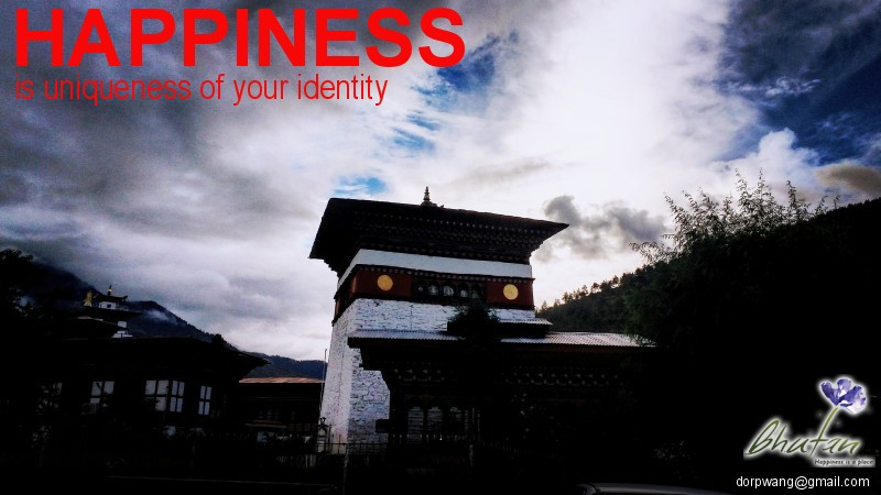 Happiness is uniqueness of your identity