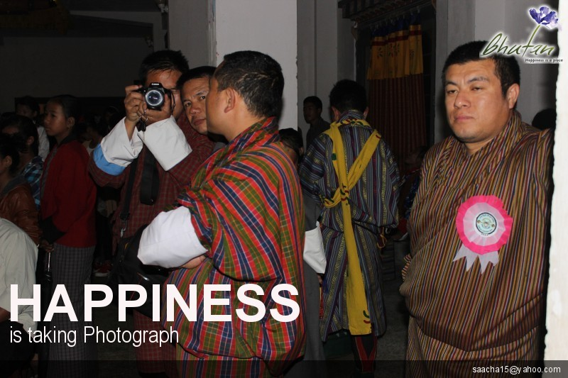 Happiness is taking Photograph