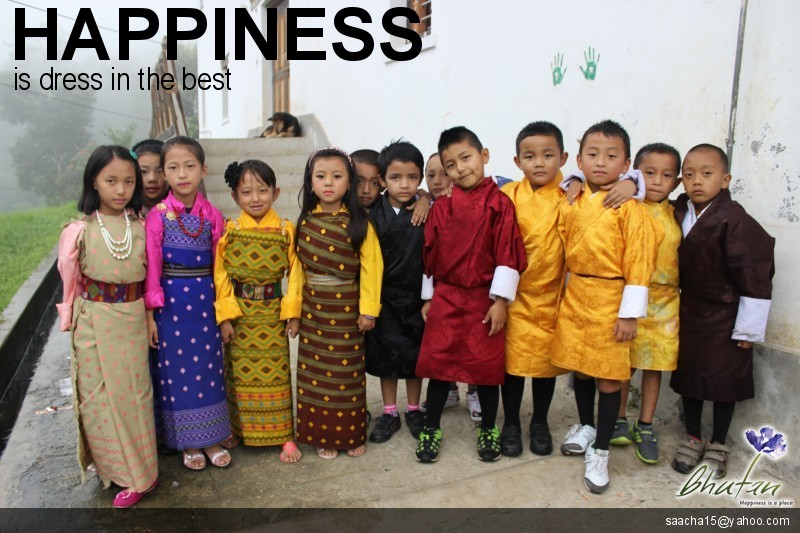 Happiness is dress in the best