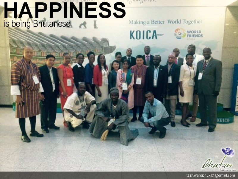 Happiness is being Bhutanese