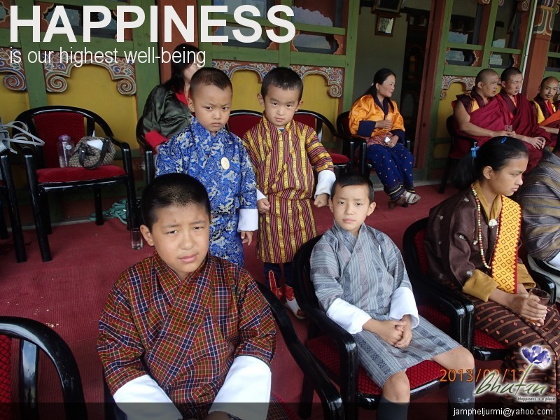 Happiness is our highest well-being