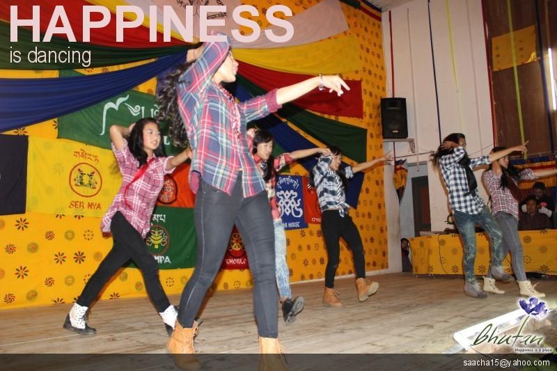 Happiness is dancing
