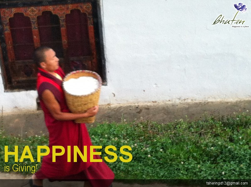 Happiness is Giving!
