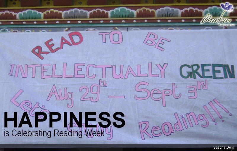 Happiness is Celebrating Reading Week