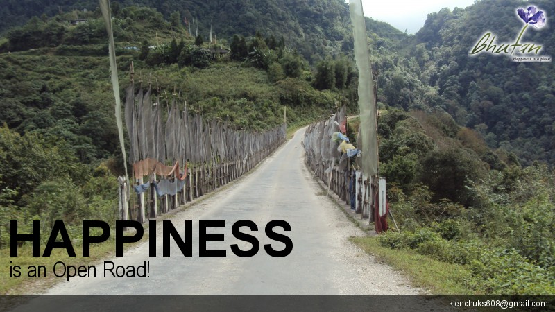 Happiness is an Open Road!