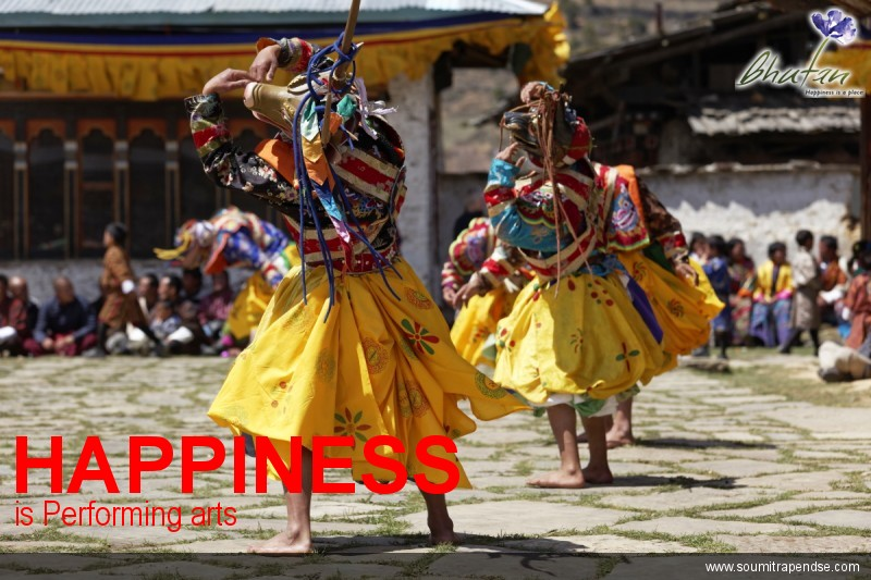 Happiness is Performing arts
