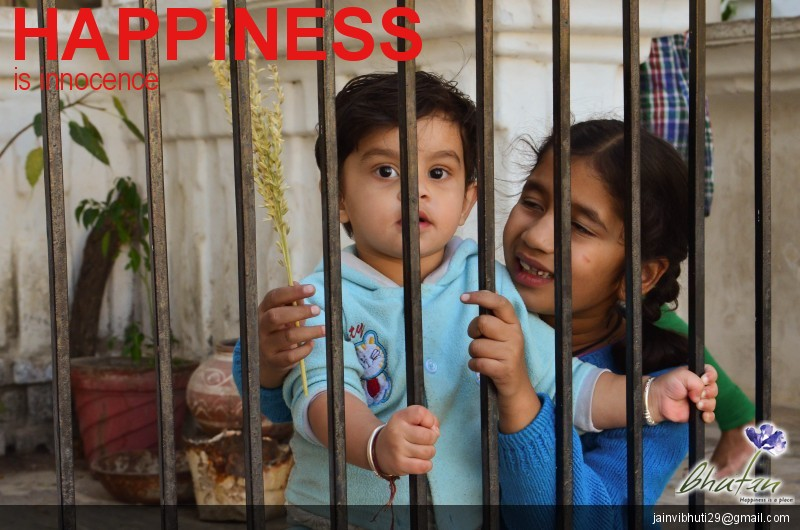 Happiness is innocence
